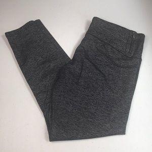 Tuff Athletics   charcoal gray leggings size Large